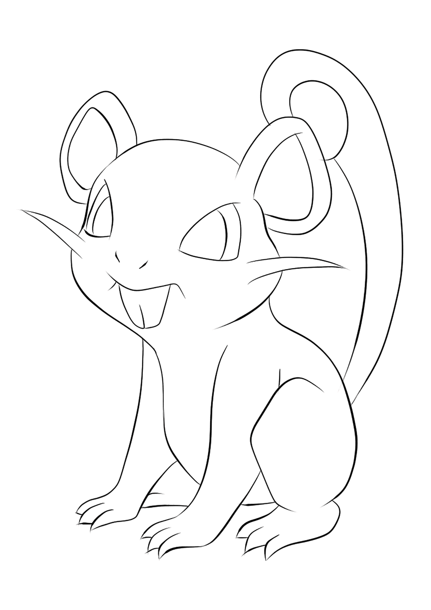 <b>Rattata</b> (No.19) : Pokémon de génération I