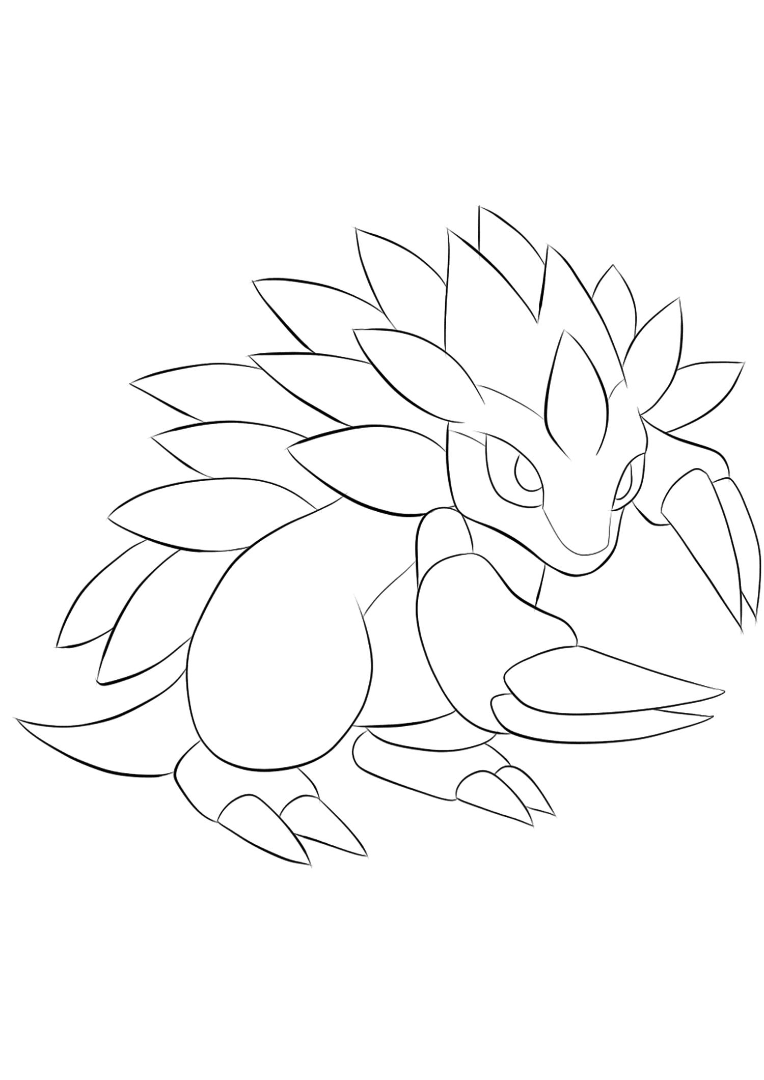 <b>Sablaireau</b> (No.28) : Pokémon de génération I