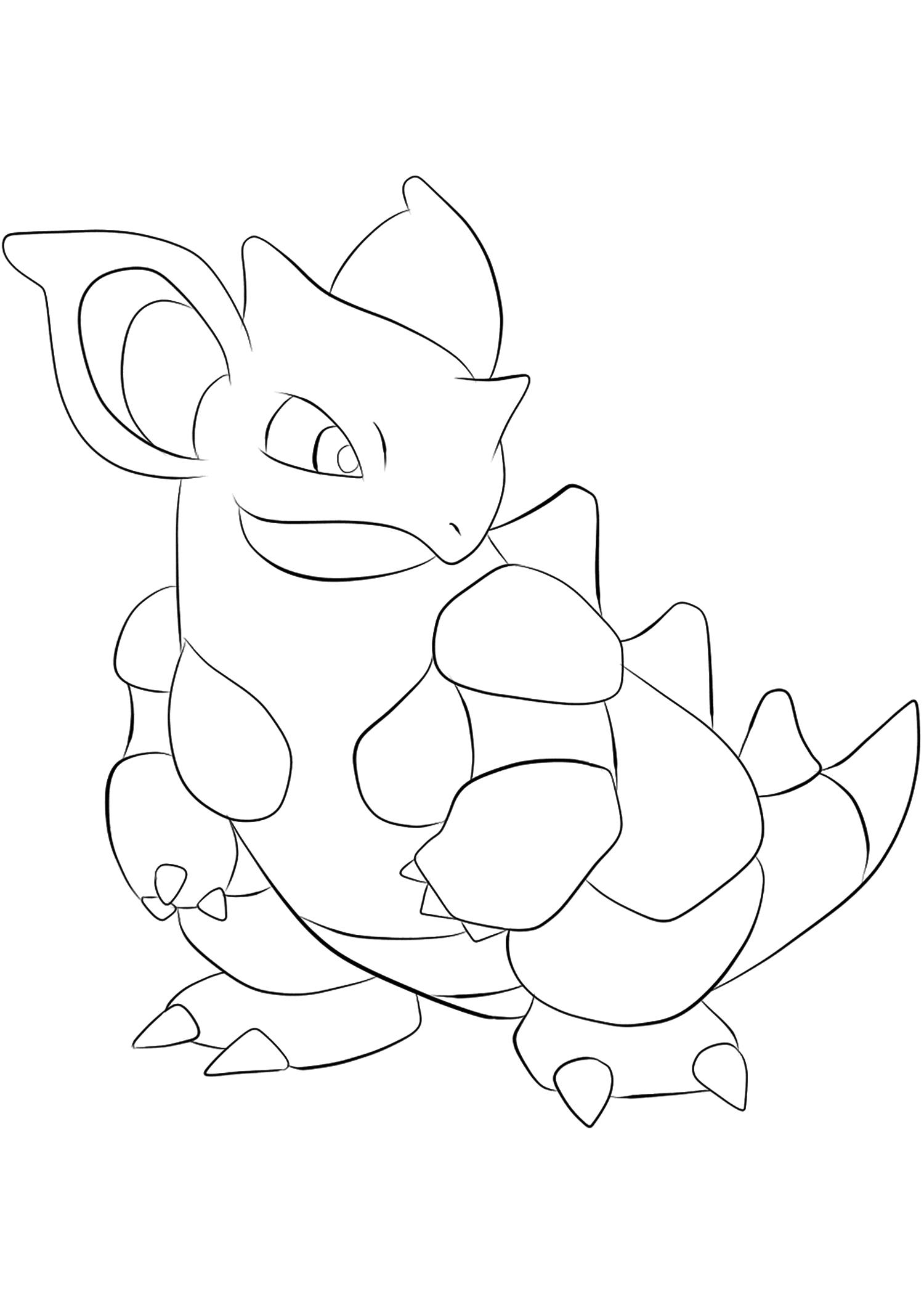 <b>Nidoqueen</b> (No.31) : Pokémon de génération I