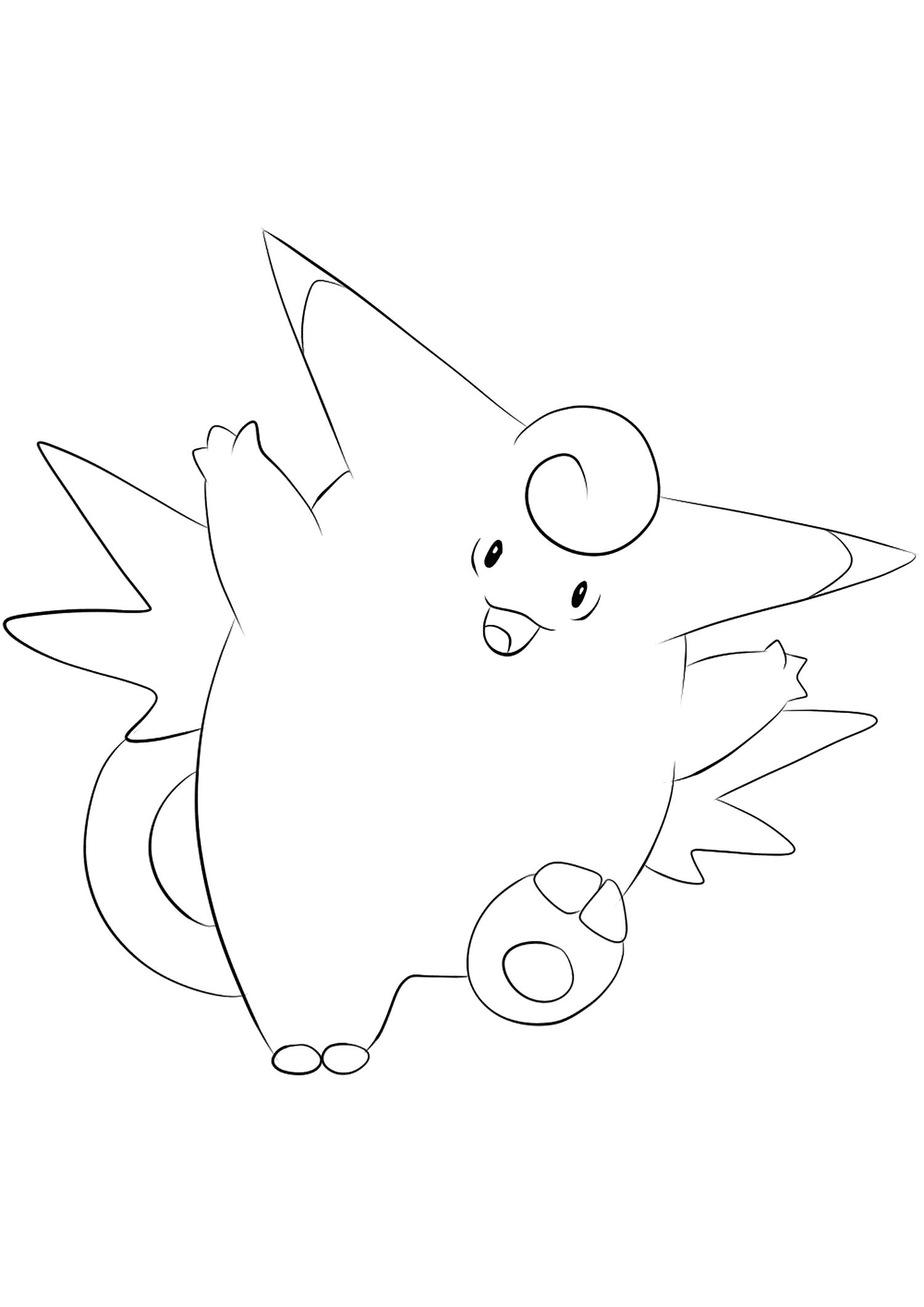 <b>Mélodelfe</b> (No.36) : Pokémon de génération I
