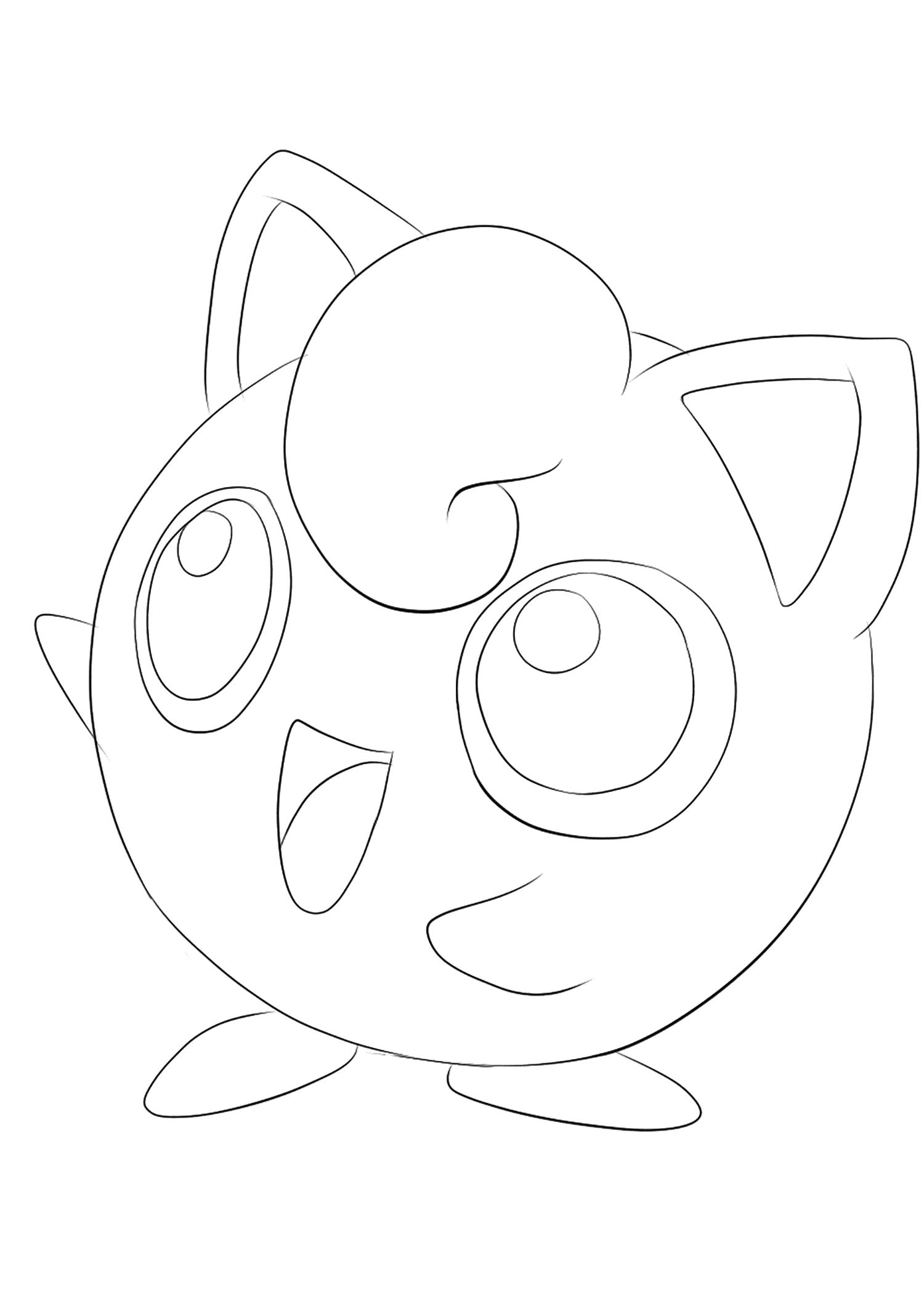 <b>Rondoudou</b> (No.39) : Pokémon de génération I