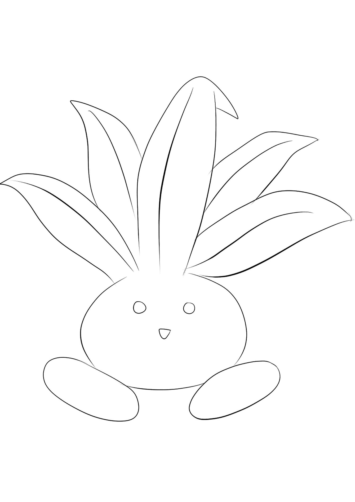 <b>Mystherbe</b> (No.43) : Pokémon de génération I