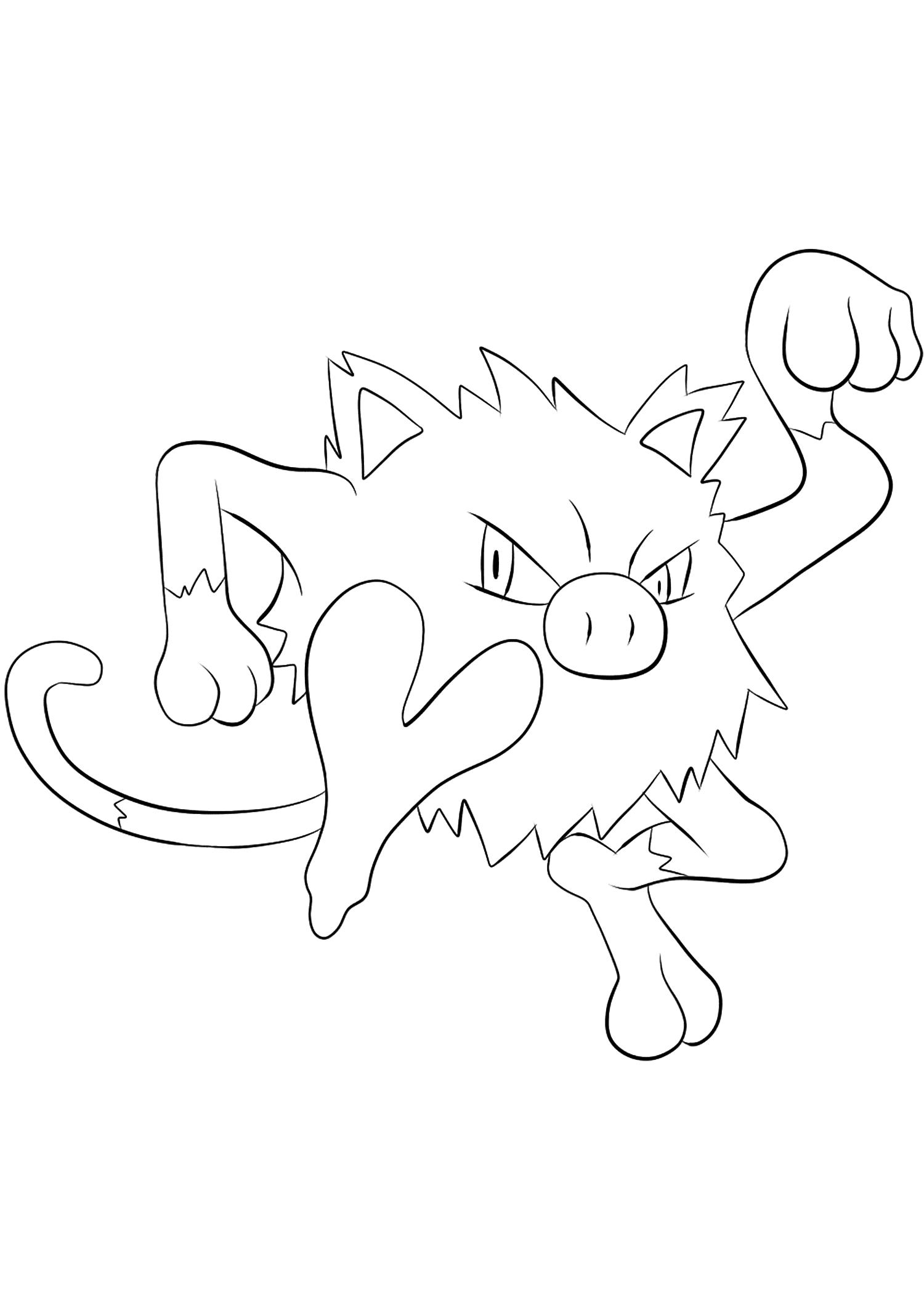<b>Férosinge</b> (No.56) : Pokémon de génération I