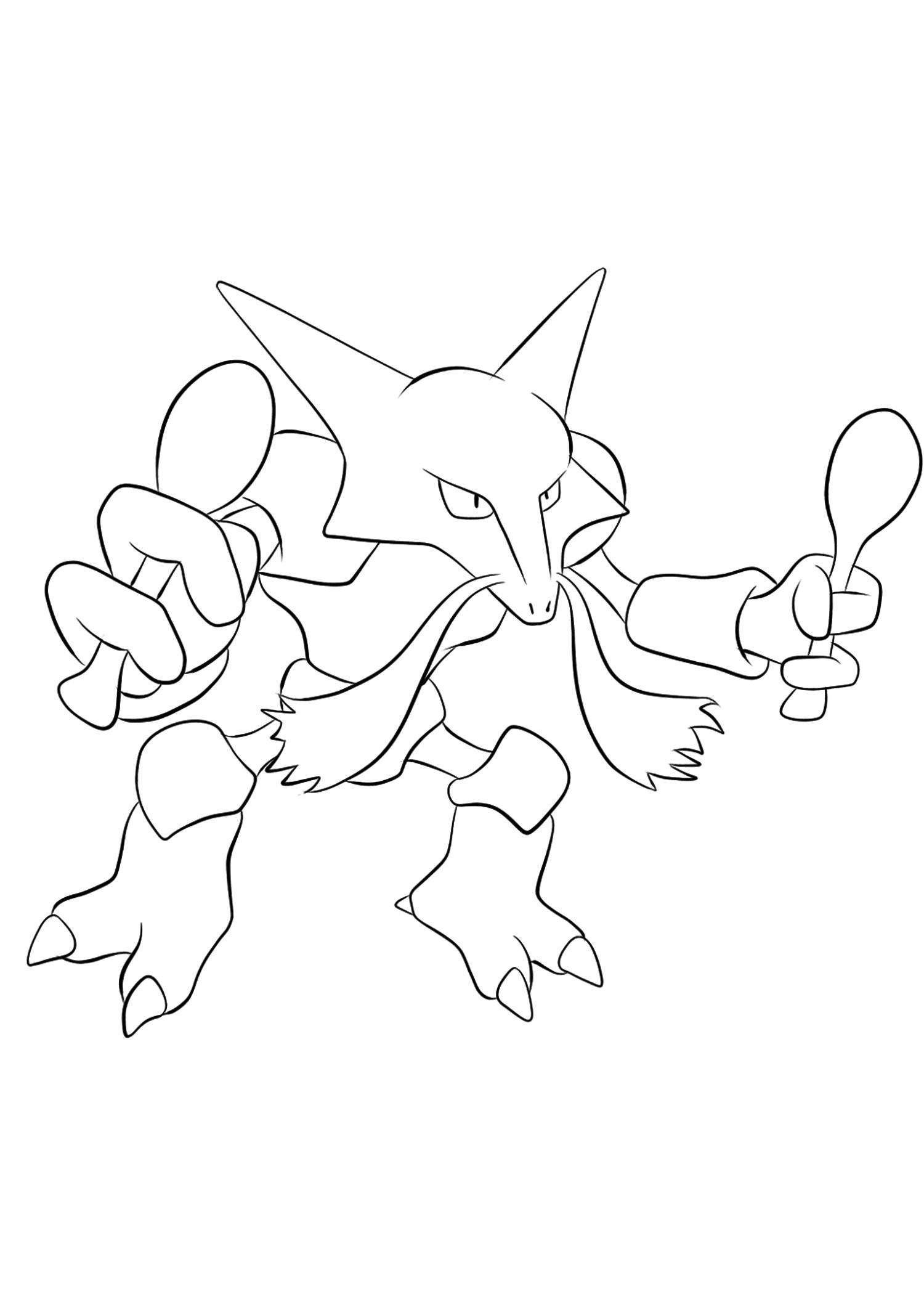 <b>Alakazam</b> (No.65) : Pokémon de génération I