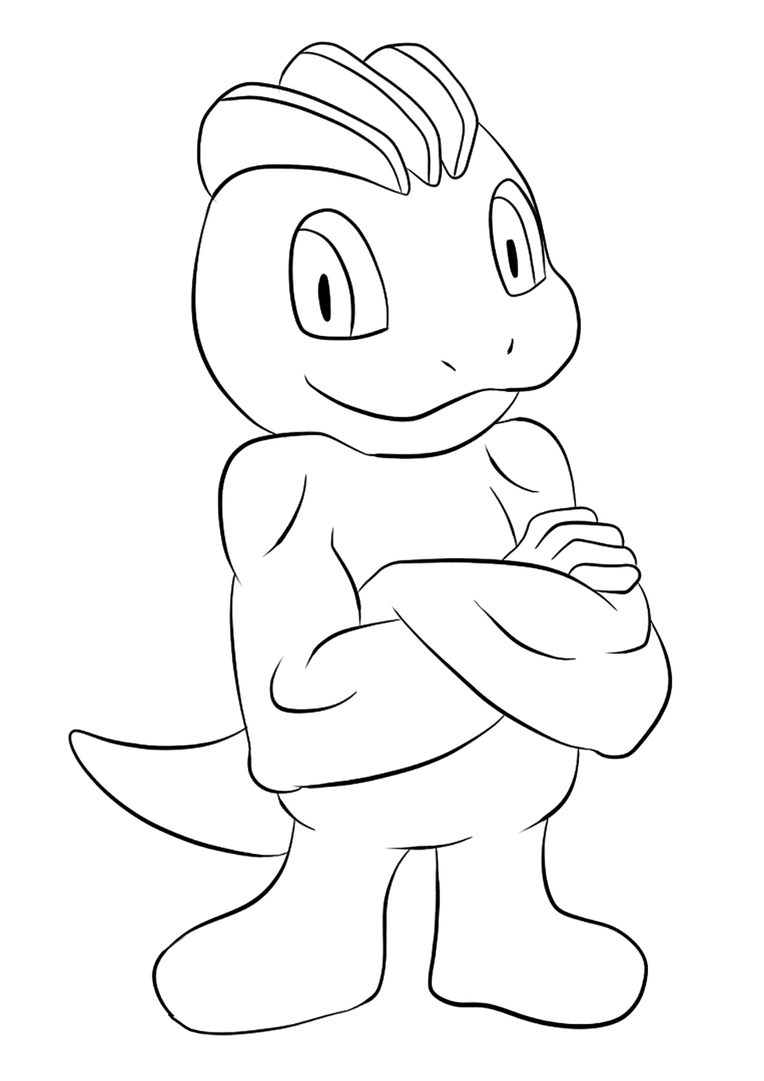 <b>Machoc</b> (No.66) : Pokémon de génération I