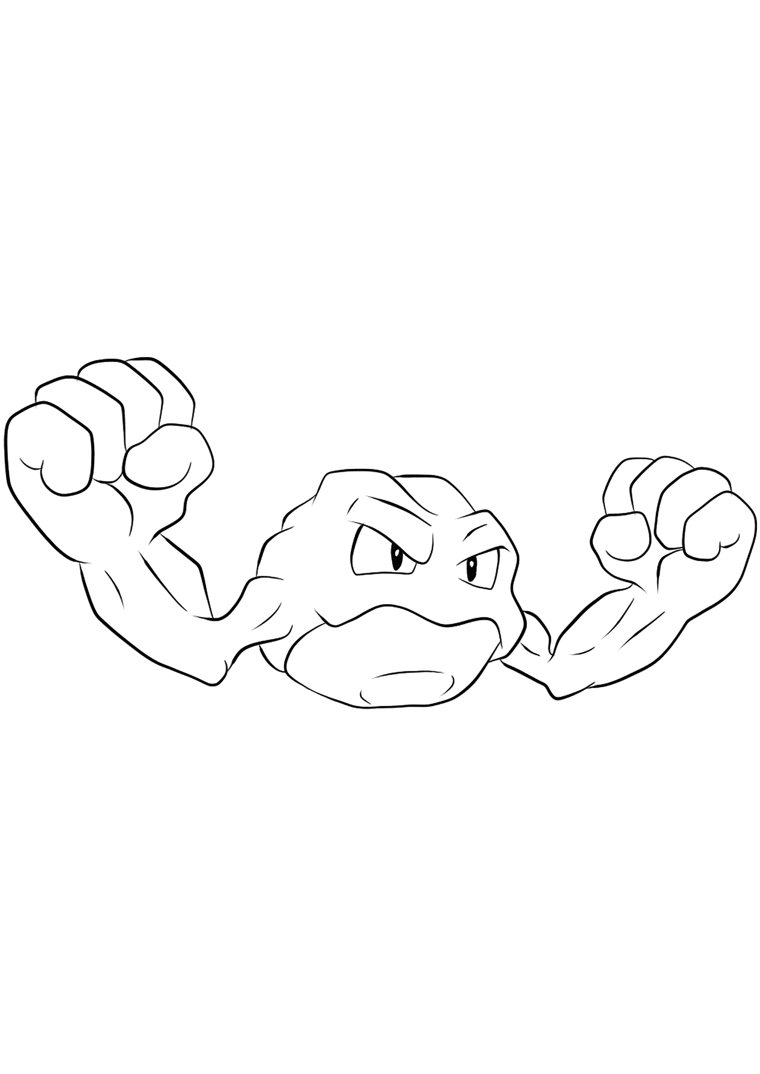 <b>Racaillou</b> (No.74) : Pokémon de génération I