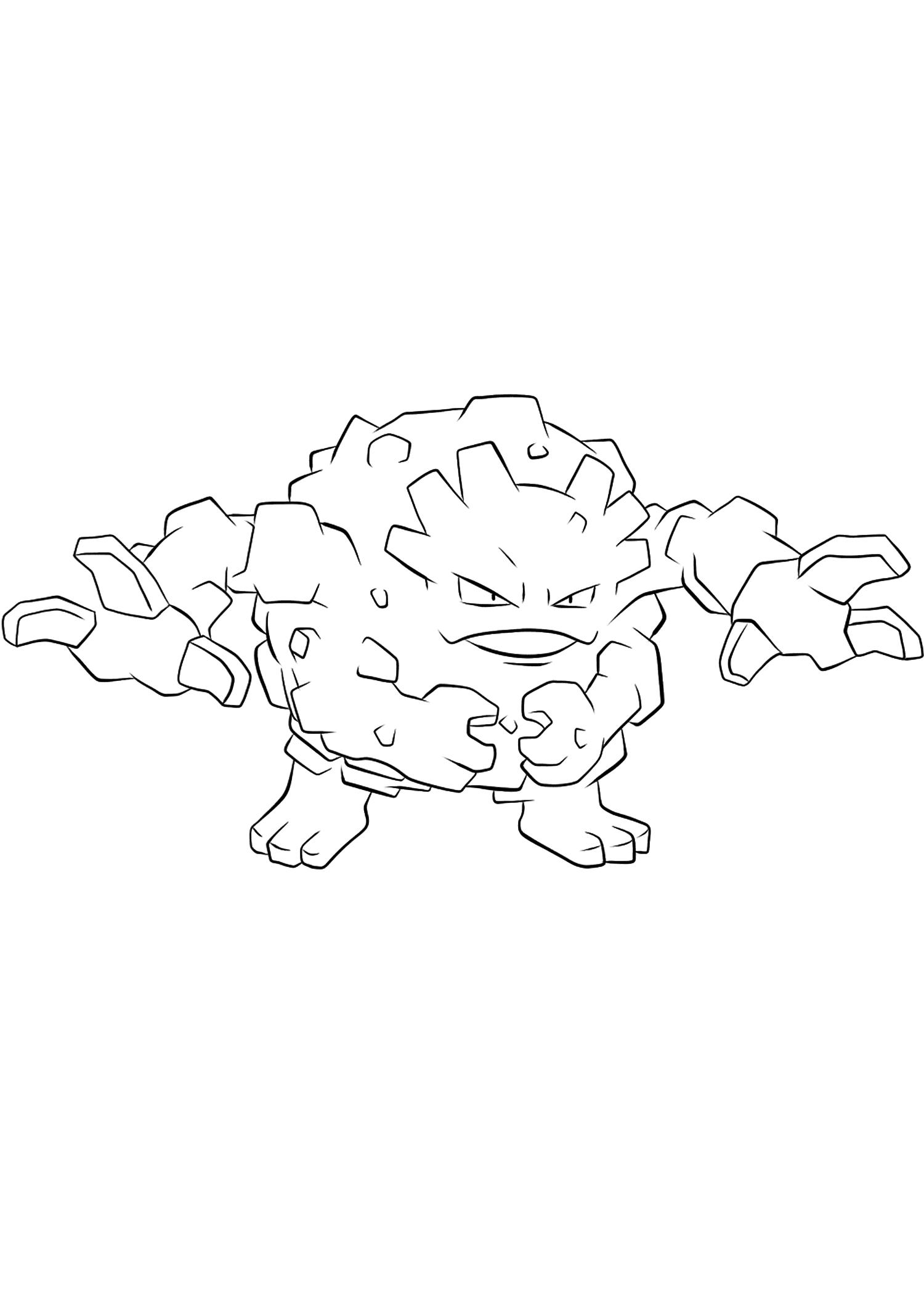 <b>Gravalanch</b> (No.75) : Pokémon de génération I