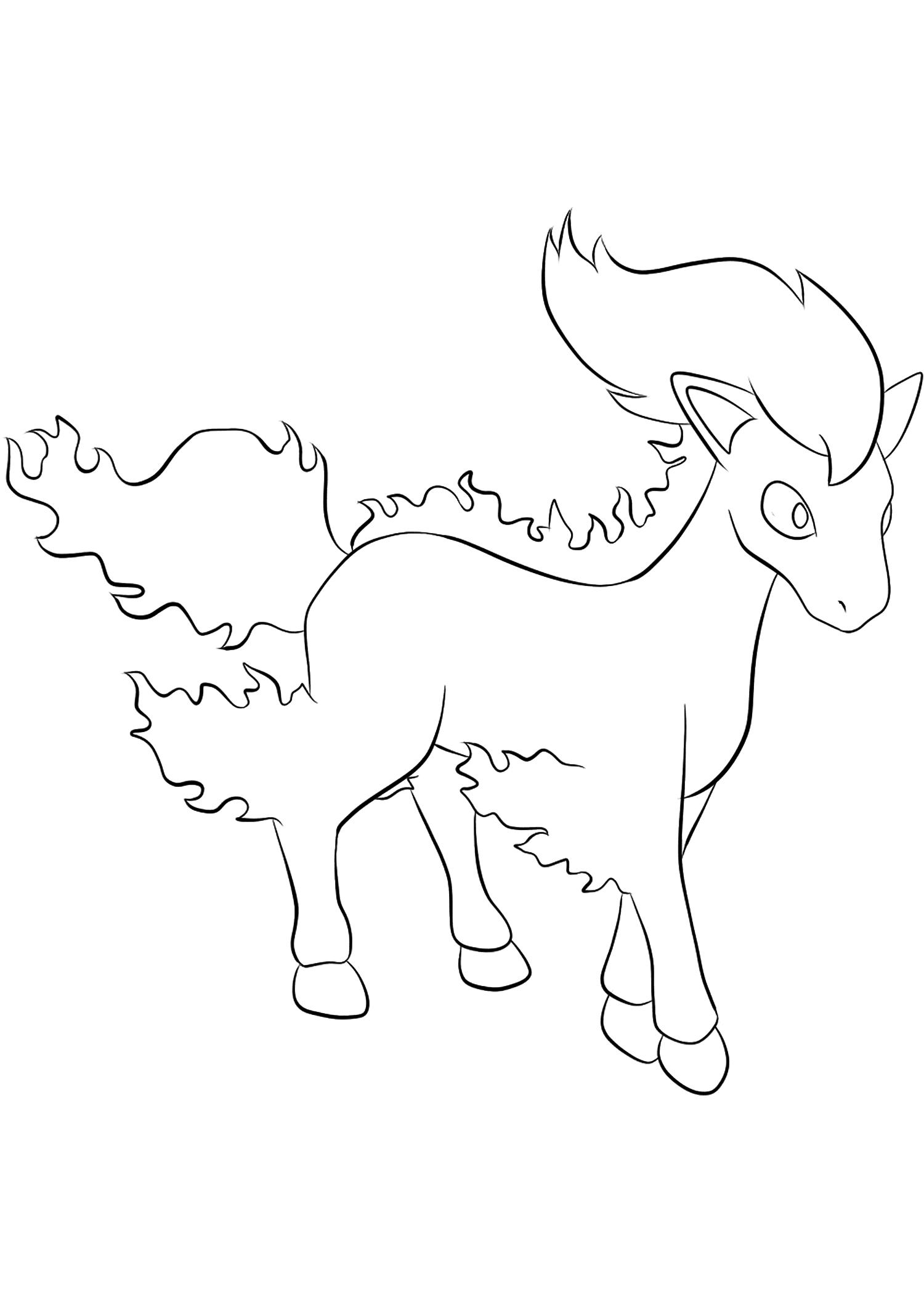 <b>Ponyta</b> (No.77) : Pokémon de génération I
