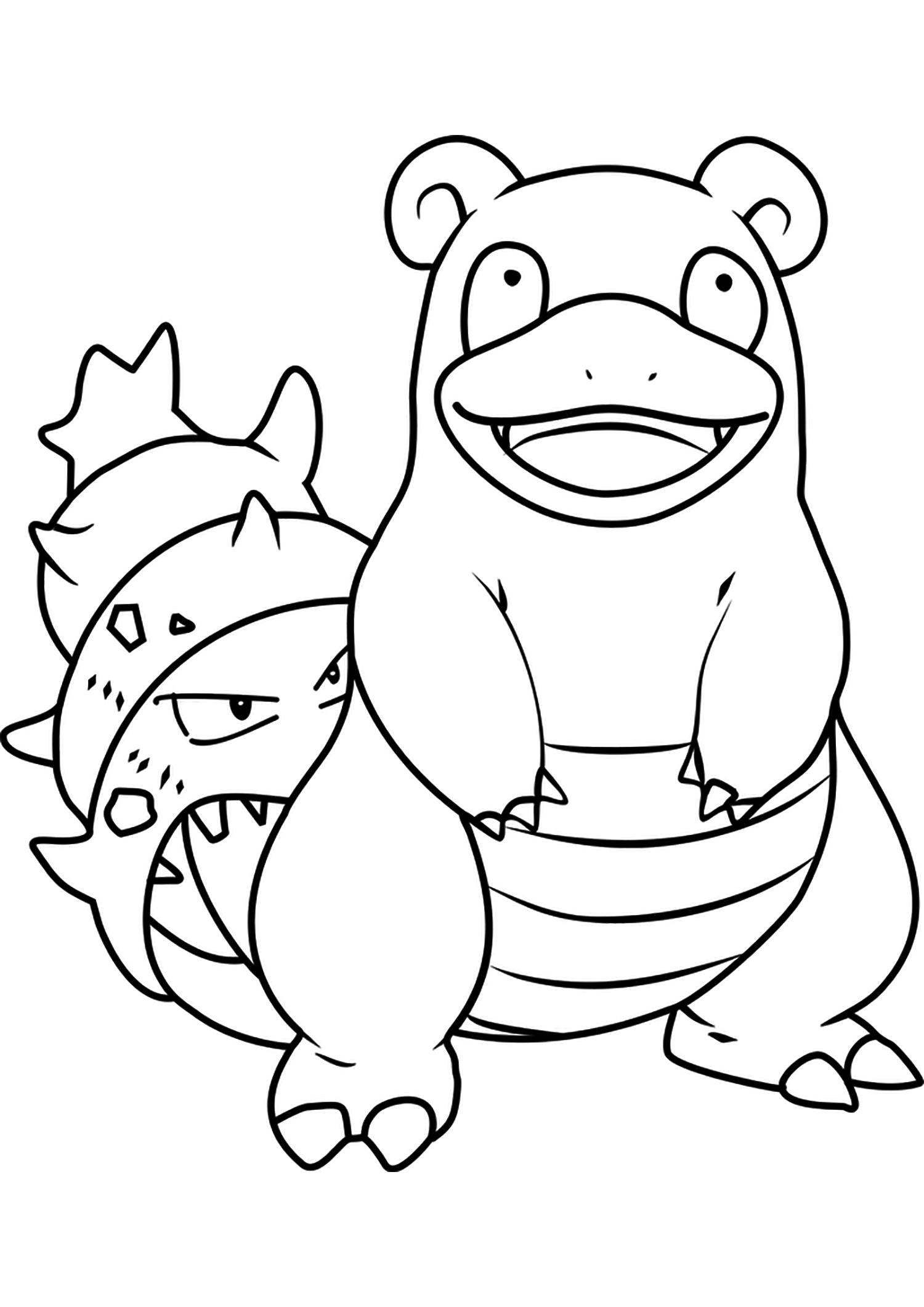 Flagadoss No 80 Pokemon De Generation I Tous Les Coloriages