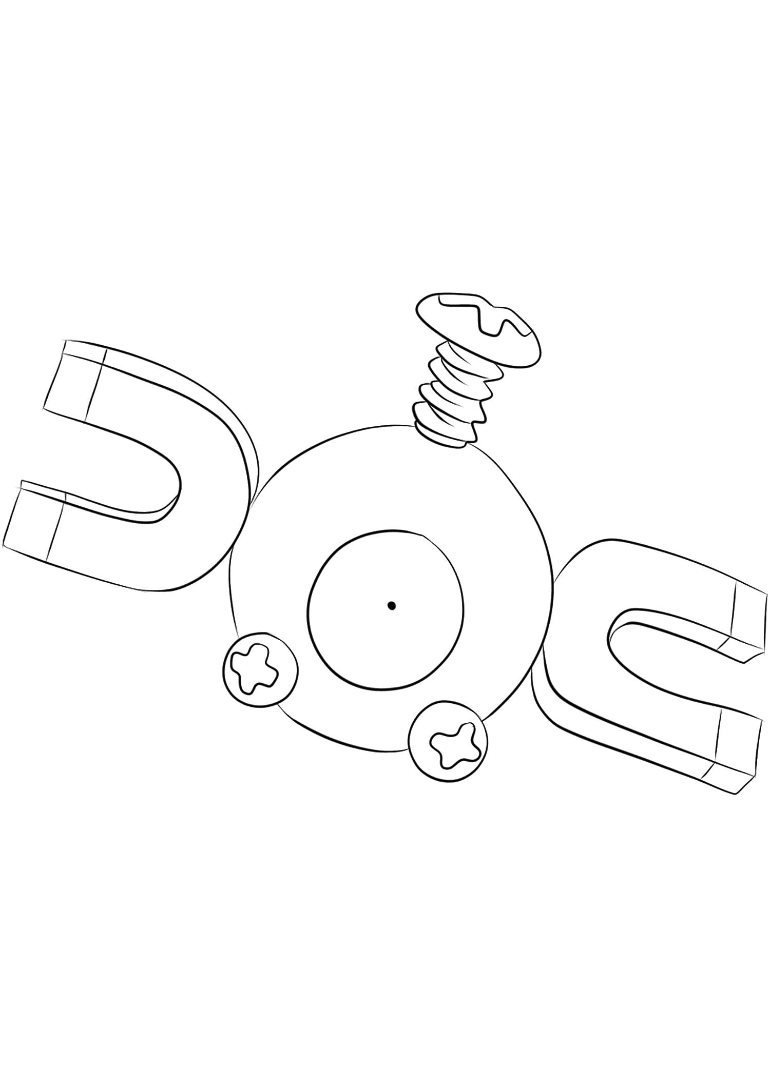 <b>Magnéti</b> (No.81) : Pokémon de génération I