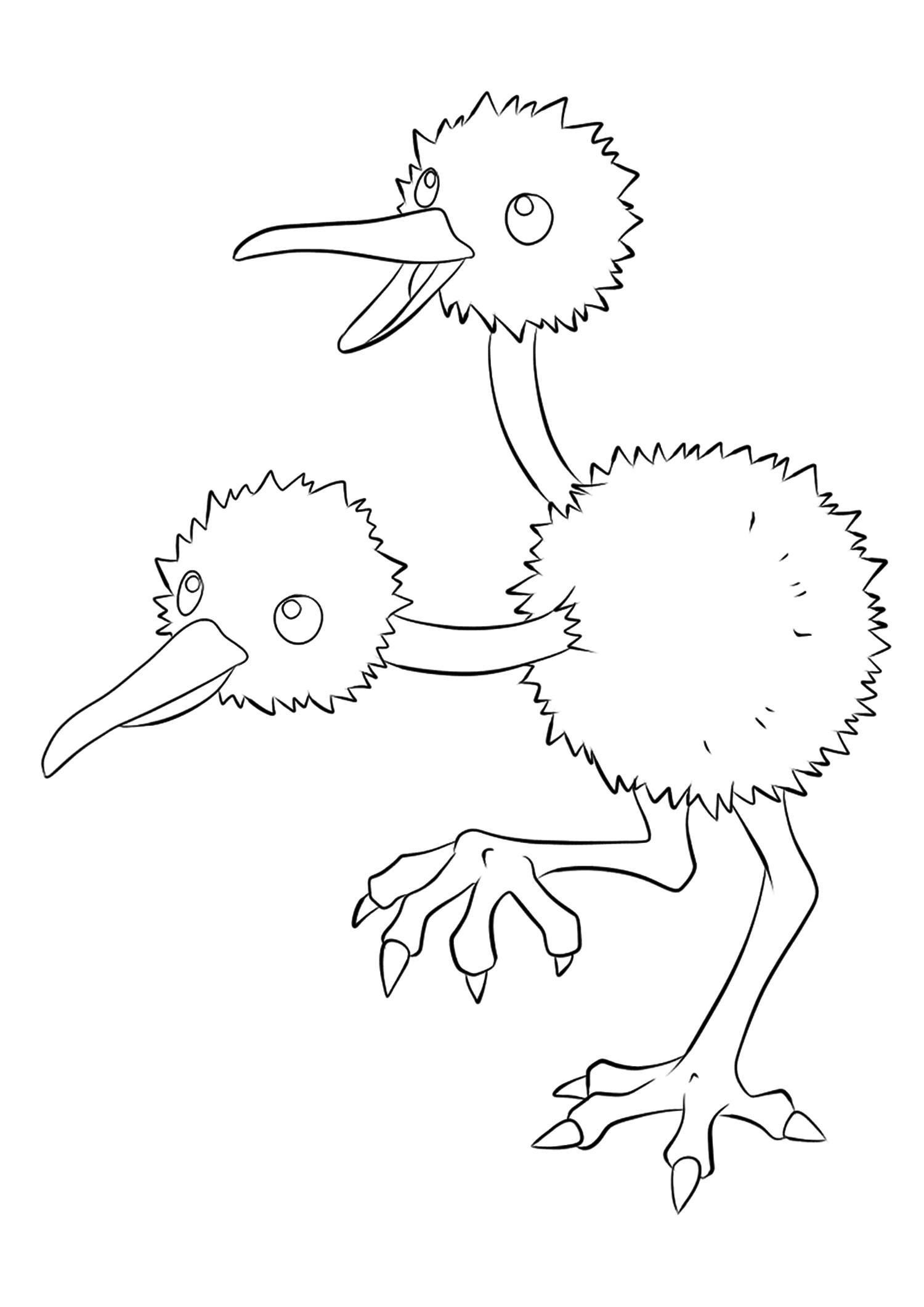 <b>Doduo</b> (No.84) : Pokémon de génération I