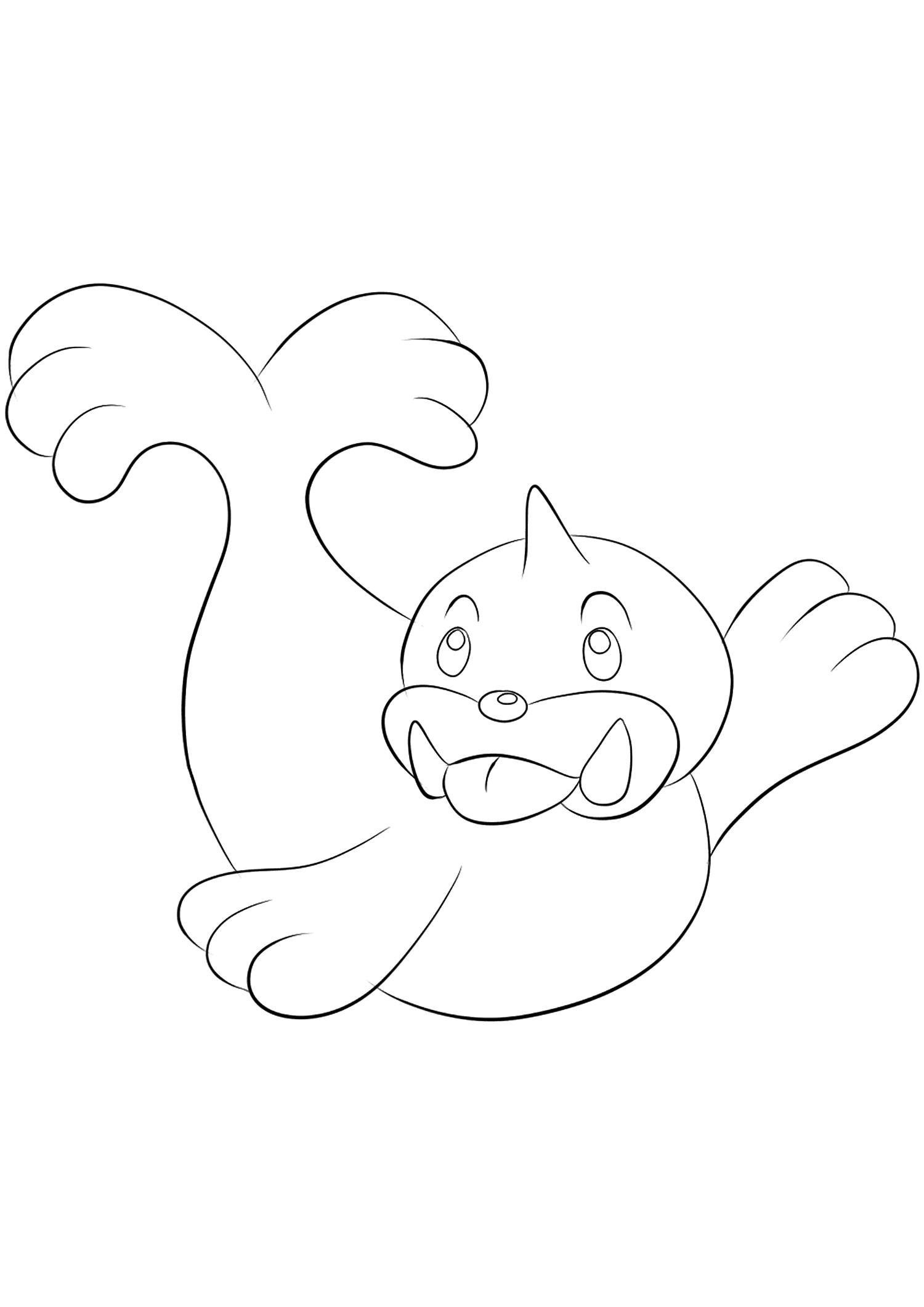 Otaria No 86 Pokemon De Generation I Tous Les Coloriages