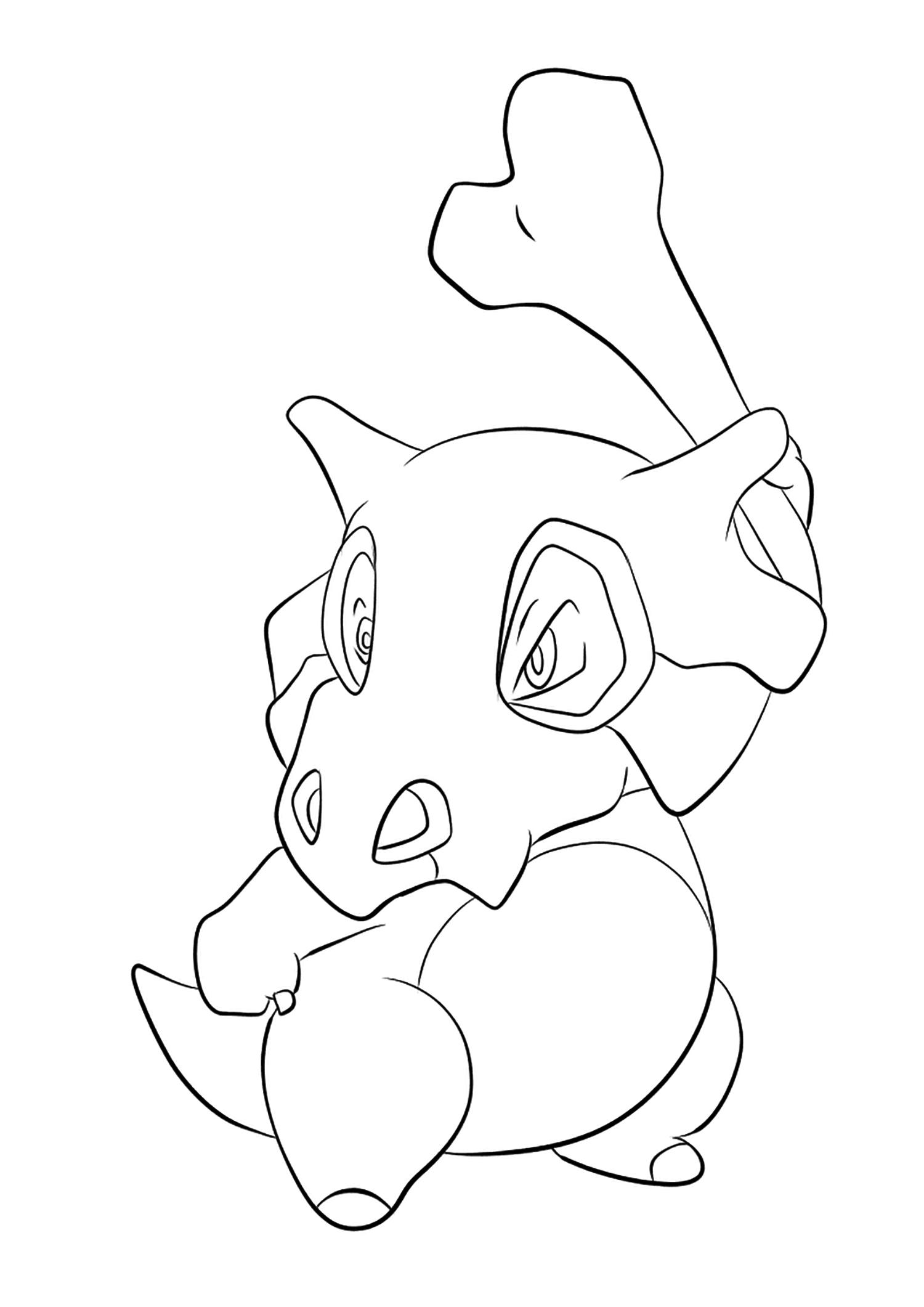 <b>Osselait</b> (No.104) : Pokémon de génération I