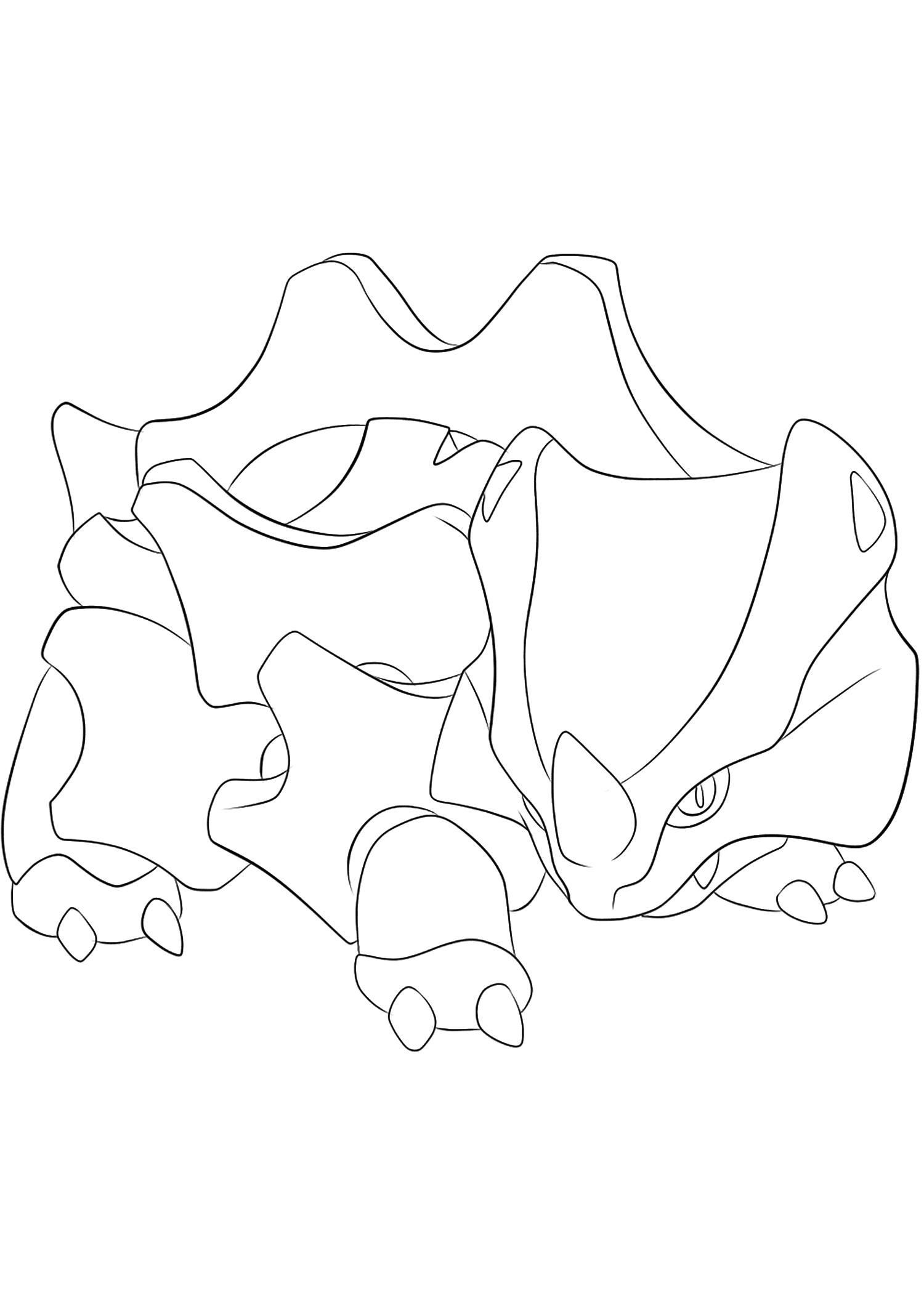 <b>Rhinocorne</b> (No.111) : Pokémon de génération I