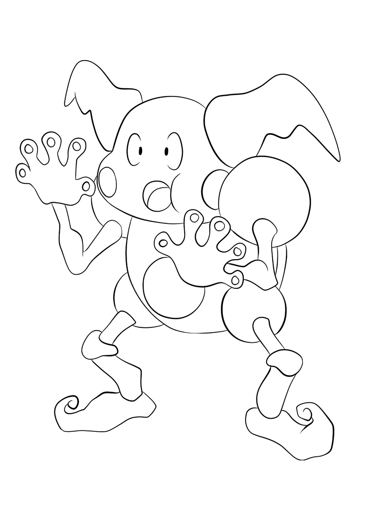 <b>M. Mime</b> (No.122) : Pokémon de génération I