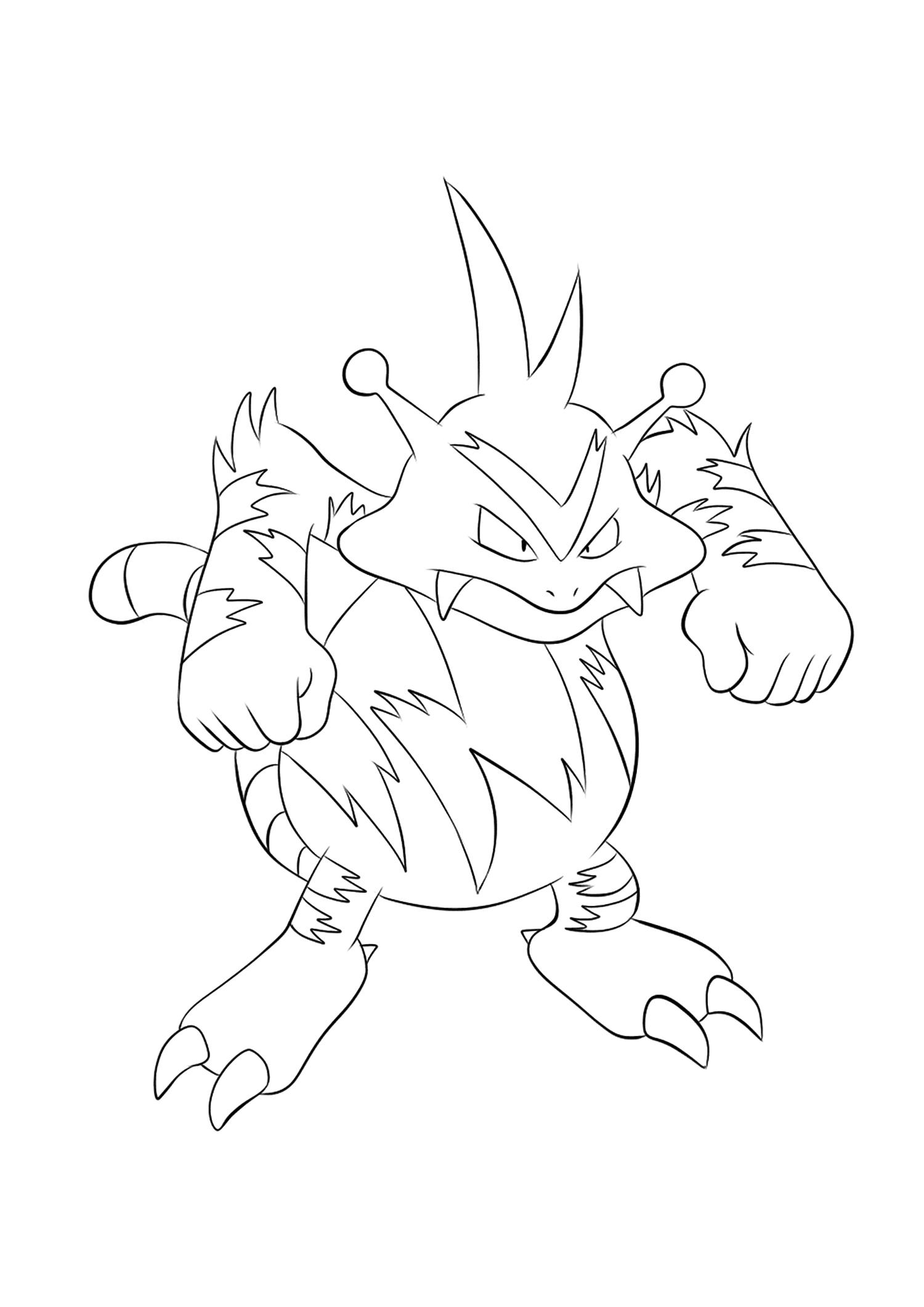 <b>Élektek</b> (No.125) : Pokémon de génération I