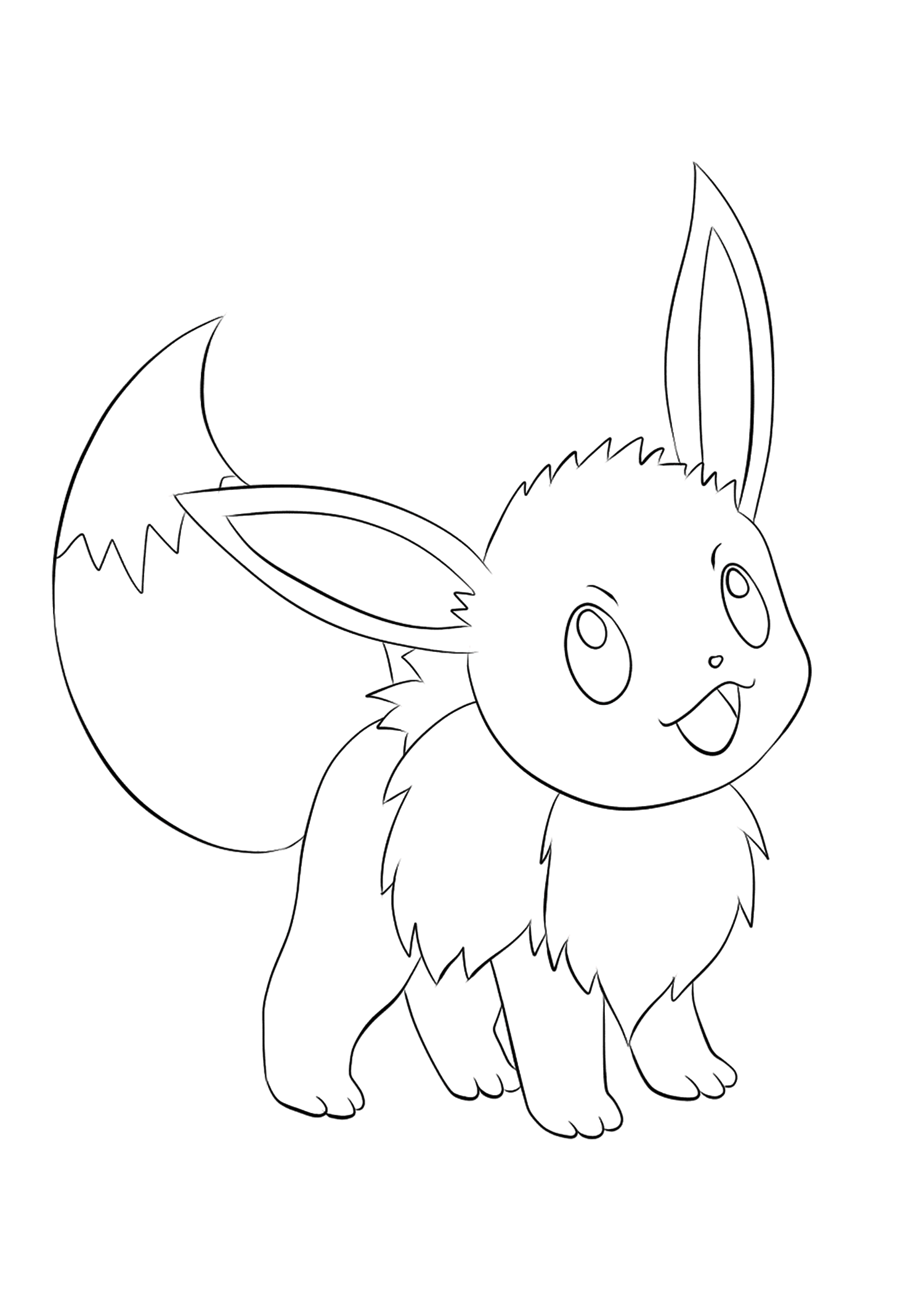 Evoli No 133 Pokemon De Generation I Tous Les Coloriages