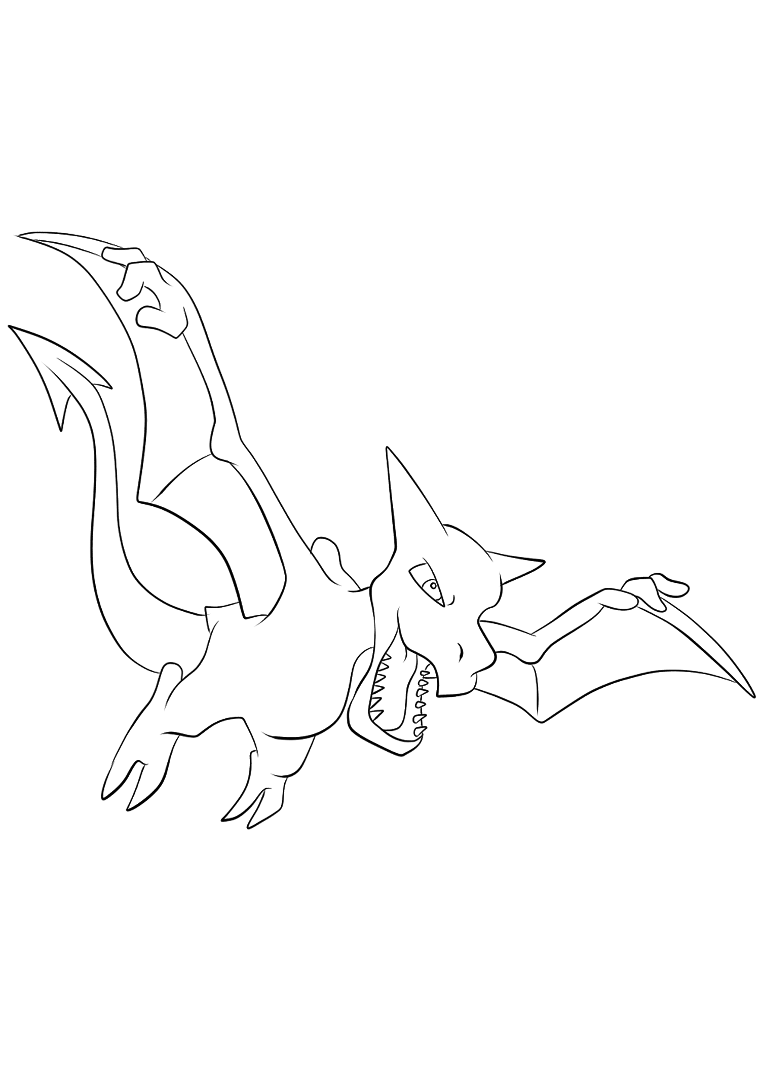 <b>Ptéra</b> (No.142) : Pokémon de génération I