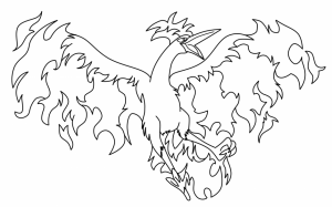 coloriage-pokemon-creature-legendaire free to print