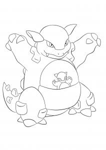 <b>Kangourex</b> (No.115) : Pokémon de génération I
