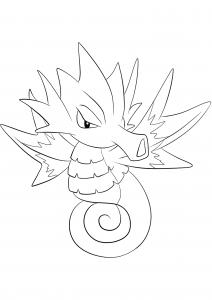 <b>Hypocéan</b> (No.117) : Pokémon de génération I