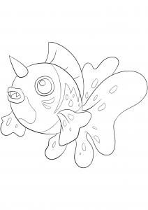 <b>Poissoroy</b> (No.119) : Pokémon de génération I