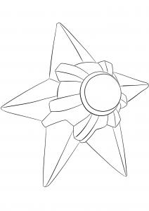 <b>Stari</b> (No.120) : Pokémon de génération I
