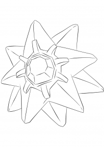 <b>Staross</b> (No.121) : Pokémon de génération I