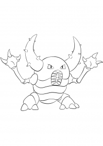 <b>Scarabrute</b> (No.127) : Pokémon de génération I