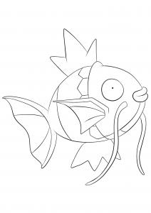 <b>Magicarpe</b> (No.129) : Pokémon de génération I