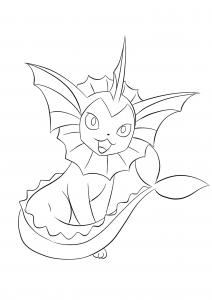 <b>Aquali</b> (No.134) : Pokémon de génération I