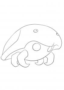 <b>Kabuto</b> (No.140) : Pokémon de génération I