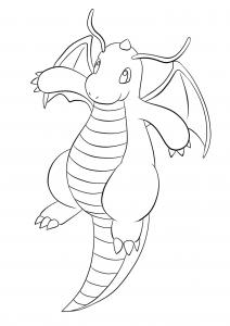 <b>Dracolosse</b> (No.149) : Pokémon de génération I