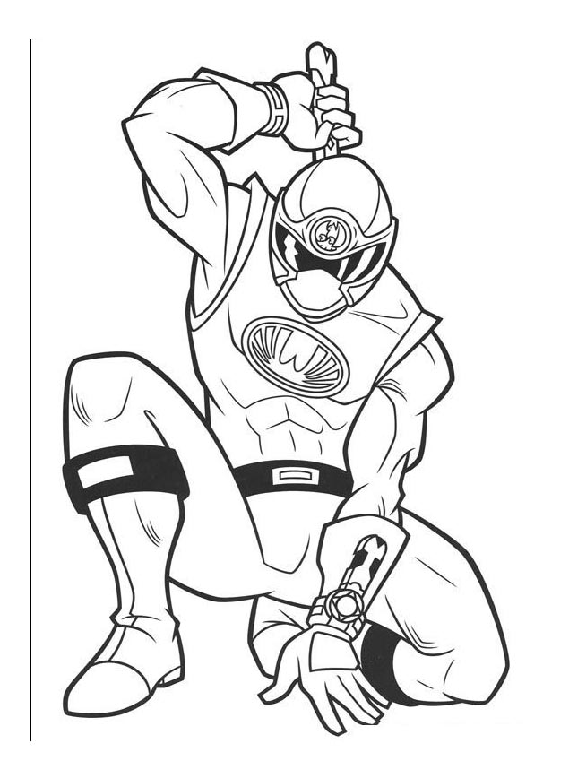 Image De Power Rangers A Telecharger Et Colorier Coloriage Power Rangers Coloriages Pour Enfants