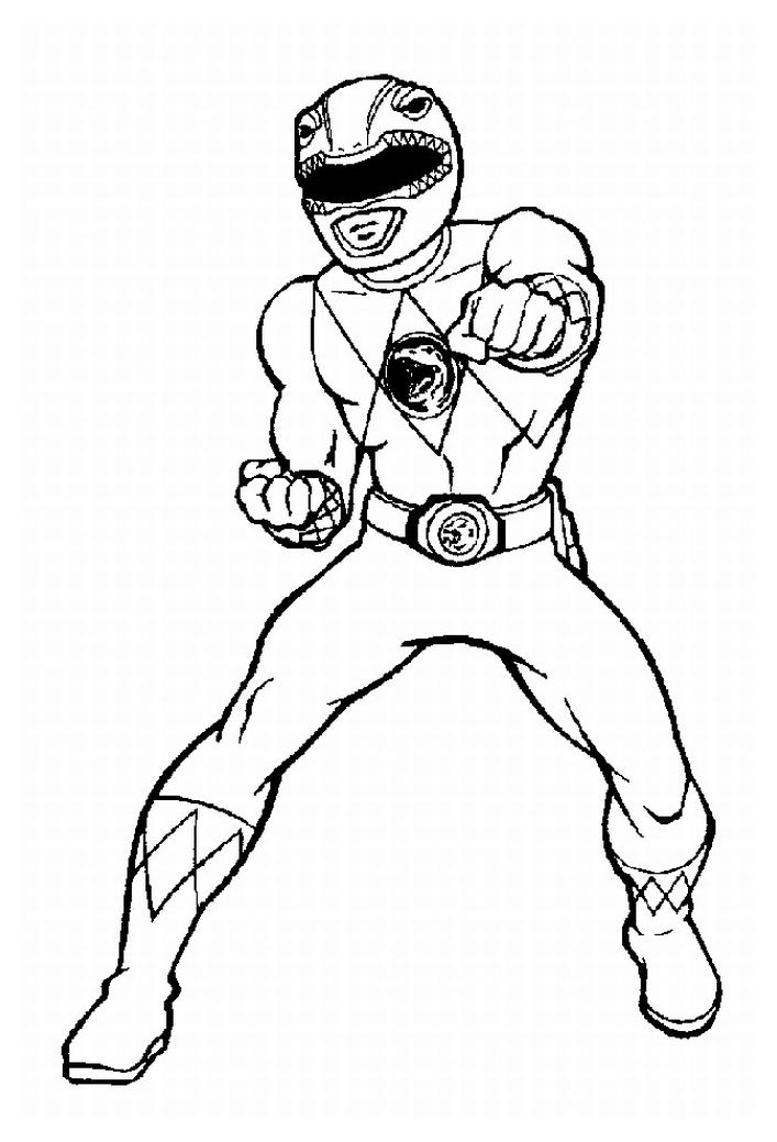 Image de Power Rangers à télécharger et colorier ...