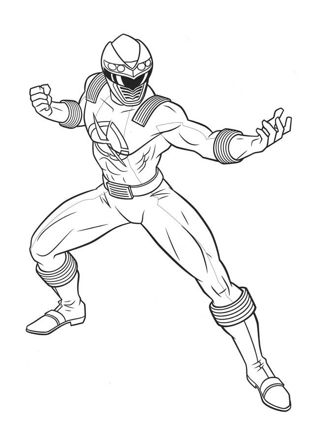 Power rangers 14 coloriage power rangers coloriages - Power rangers samurai dessin ...
