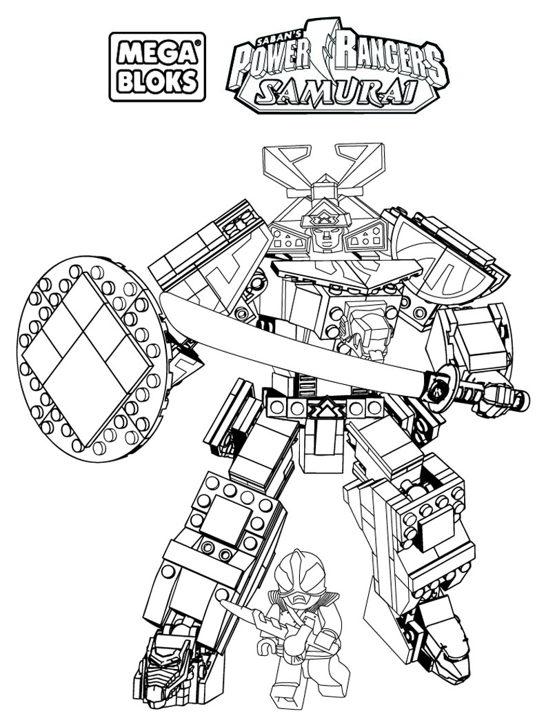 Megazord coloriage power rangers coloriages - Power rangers gratuit ...