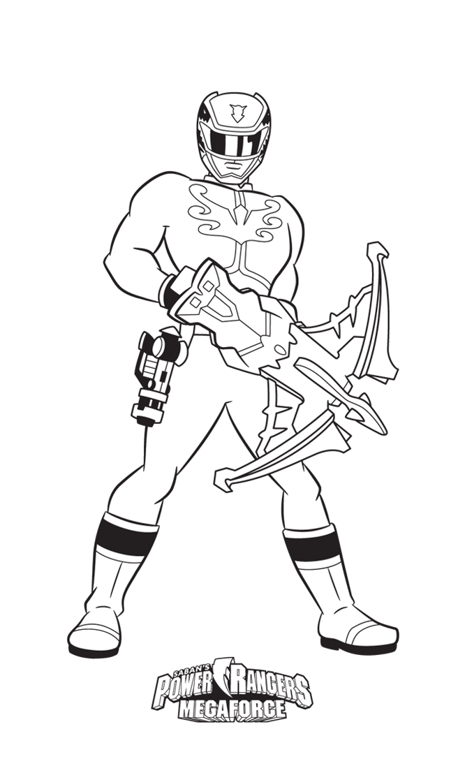 Power Rangers 4 Coloriage Power Rangers Coloriages Pour Enfants