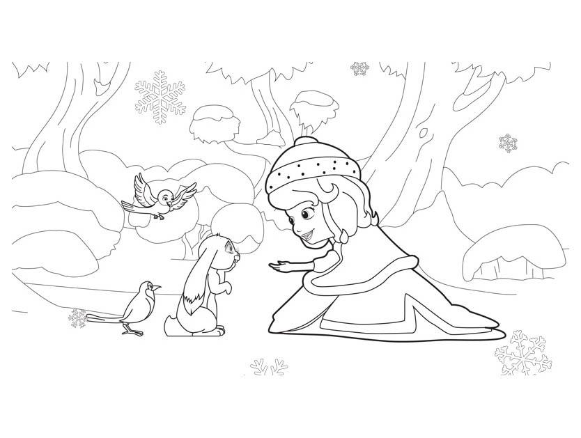 superbe dessin princesse sofia imprimer et colorier - Coloriage Princesse Sofia