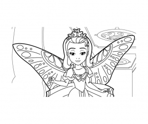 Coloriage Imprimer Princesse Sofia Gratuit Coloriage Princesse