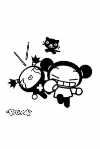 Coloriage pucca 10
