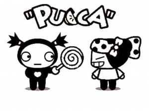 coloriage-pucca-7 free to print