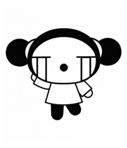 coloriage-pucca-8 free to print
