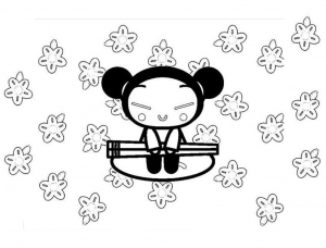 coloriage-pucca-9 free to print