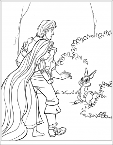 coloriage-raiponce-disney-2 free to print