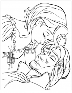 coloriage-raiponce-disney-3 free to print