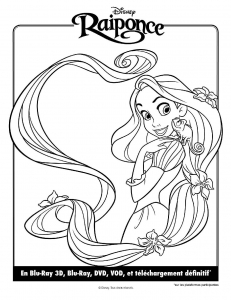 coloriage-raiponce-disney-8 free to print