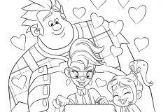 Coloriage Disney Ralph.Coloriage Disney Coloriages Pour Enfants