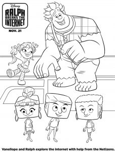 Coloriage Ralph 20 Coloriages