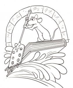 coloriage-ratatouille-2 free to print